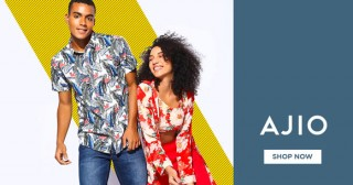 Ajio Amazing Offer : Upto 40% OFF on Levi's T-shirts, Shoes, Jeans etc.