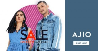 Ajio Best Deal : 50% - 80% OFF on Sunglasses and Eyewear