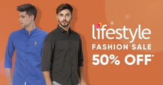 Lifestyle Flat Rs. 299 Off on Min. Purchase of Rs. 1499