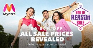 Myntra All Sale Prices Revealed | 50-80% Off