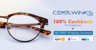Coolwinks App Exclusive Offer : Extra 20% OFF on Sunglasses