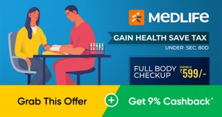 Medlife Medlife Exclusive Offer: Upto 30% Off on Medicines