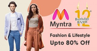 Myntra Myntra Sale : Min 50% OFF on Mast & Harbour Tees, Watches, Sweaters And More.