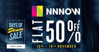 Nnnow NNNOW Footwear Sale : Upto 60% OFF on Men's Shoes + Free Shipping