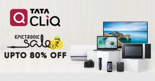 Tatacliq Standard Chartered Bank Offer : Get 15% Instant Discount on Lifestyle | Rs.300 OFF on Electronics
