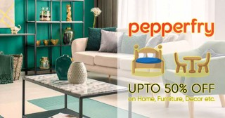 Pepperfry Pepperfry Offer : Register Now & Get Rs. 10000 To Shop