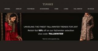 Tjori Sale Upto 50% OFF on Jewellery