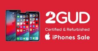 2gud Special Offer : Upto 65% Off on Refurbished Smartphones