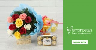 Ferns n petals Flat 15% Off on Chocolates Starting Rs. 399. Shop Now.