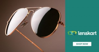 Lenskart Special Price : Wayfarer Sunglasses Starting From Rs. 999