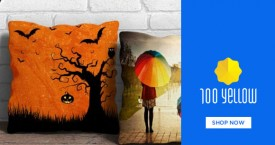 100yellow 100 Yellow Offer : Get Upto 25% OFF on Cushion Covers