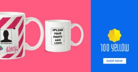 100yellow Personalized Photo Mugs Starting From Rs. 249 At 100 Yellow