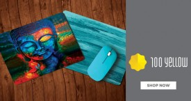 100yellow Special Deal : Designer Mousepads Starting at Rs. 149
