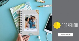 100yellow Amazing Deal :Digital Printing Note Book Just Rs. 229+ Only @ 100Yellow