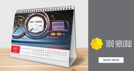 100yellow Personalized Calendars Offers : Photo & Desk Calendar Starting from Rs. 249