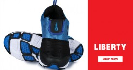 Liberty shoes Hot Deal : Upto 50% Off on Men's Sports Shoe