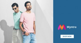 Myntra Flat 50% Off Sale: Tshirts, Shoes, Bags, Jeans, Tops etc.