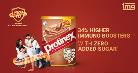 Tata1mg 1mg Offer : Upto 10% Off on Protinex