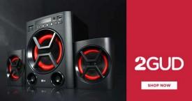 2gud Great Offer : Refurbished Speakers Upto 50% Off