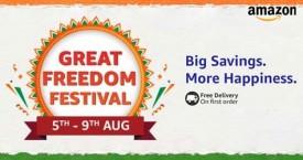Amazon Great Freedom Festival : Upto 80% OFF  (5 Aug to 9 Aug '21)