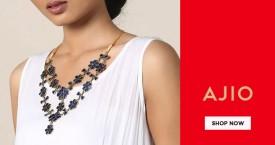 Ajio Min 40% Off on Afhghan Jewellery.