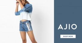 Ajio Ajio Sale : Get Upto 60% OFF on All Products