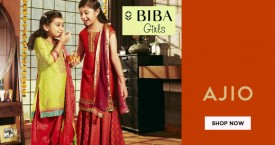 Ajio Flat 30% Off on Biba Girls.