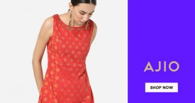 Ajio Extra 50% Off on Purchase of Rs. 2190/-.