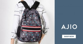 Ajio Upto 60% OFF on Men's Bags