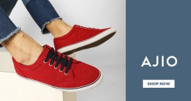 Ajio Men's Sneakers - Upto 40% OFF