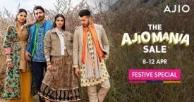 Ajio The Ajiomania Sale : 50% - 80% Off (8 Apr to 12 Apr '21)