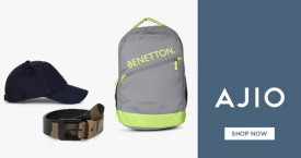 Ajio 40% - 50% OFF on Accessories