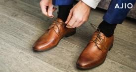 Ajio Best Offer : Men's Workwear Under Rs. 1.299  Formal Shoes, Shirts etc.