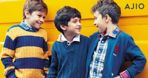Ajio Special Offer : Upto 80% Off on Kids