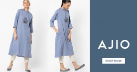 Ajio Kurtas for Women's - Upto 50% OFF