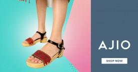 Ajio Hot Deal : Women's Footwear Under Rs. 799