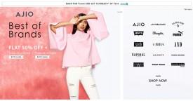 Ajio Minimum 30% Off on Stylish Summer Steals.