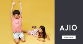 Ajio Get Extra Rs. 500 Off In Kidswear.