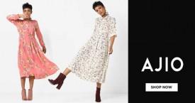 Ajio Upto 70% Off on Women's Footwear.