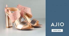 Ajio Top Brands : Women's Footwear Under Rs. 499