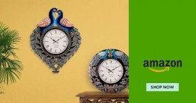 Amazon Exciting offers on Ethnic Clocks
