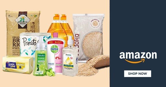 Best Deal : Upto 60% Off on Daily Essentials + Hygiene & Household Supplies
