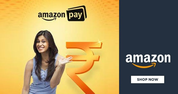 Amazon Pay Offer : Upto Rs. 3,300 Cashback* on Recharges, Food, Travel & More