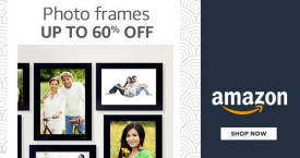 Amazon Best Deal : Upto 60% OFF on Photo Frames