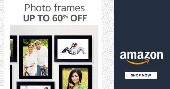 Best Deal : Upto 60% OFF on Photo Frames