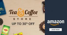 Amazon Best Offer : Upto 30% OFF on Tea & Coffee At Amazon