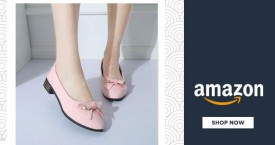 Amazon Best Price : Ballet Flats Starting From Rs. 299