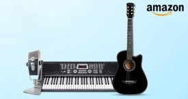 Amazon Best Offer : Upto 65% OFF on Musical Instruments & Professional Audio