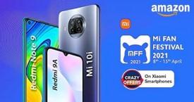 Amazon Mi Fan Festival : Starting Rs. 6,799 (8 Apr to 13 Apr '21)