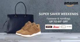 Amazon Best Deal : Upto 60% OFF on Footwear & Handbags